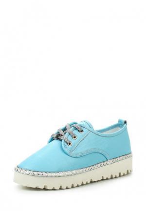 Ботинки Alpino. Цвет: голубой