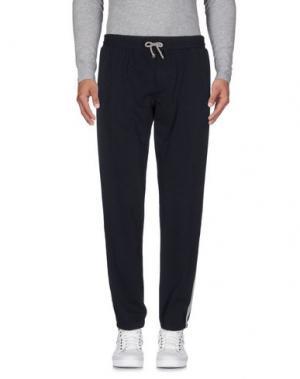 Повседневные брюки DANIELE ALESSANDRINI HOMME. Цвет: темно-синий