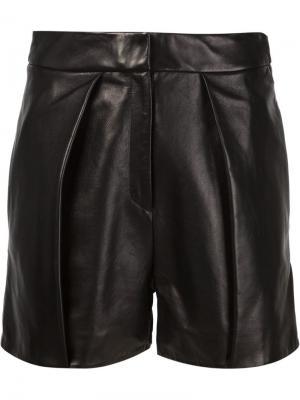 Плиссированные шорты Ji Oh. Цвет: чёрный