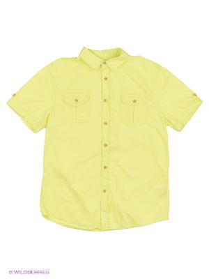Рубашка Modis. Цвет: светло-желтый