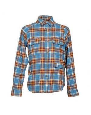 Pубашка BATTENWEAR. Цвет: пастельно-синий