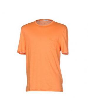 Футболка GRAN SASSO. Цвет: оранжевый