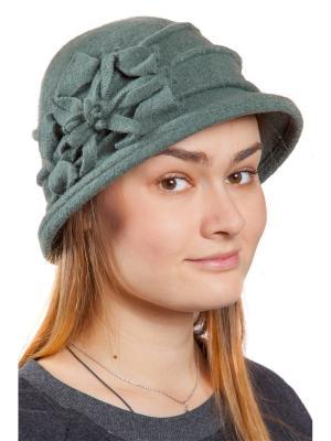 Шляпа Скарлет Three S. Цвет: серо-зеленый