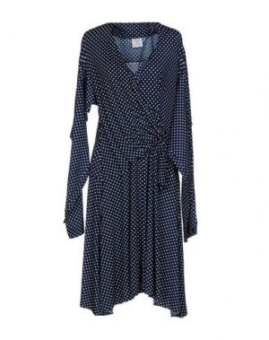 Платье до колена VETEMENTS. Цвет: ярко-синий