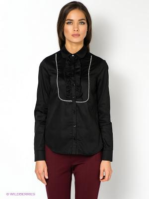 Блузка MET. Цвет: черный