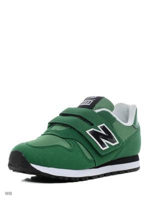Кроссовки NEW BALANCE 373. Цвет: зеленый