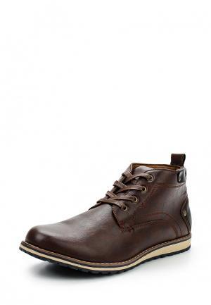 Ботинки Pezatti. Цвет: коричневый