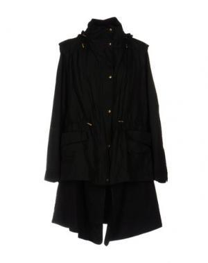 Куртка DONNA KARAN. Цвет: черный
