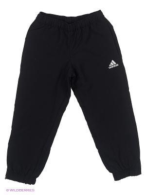 Брюки Yb Ess W Stan C Adidas. Цвет: черный, белый