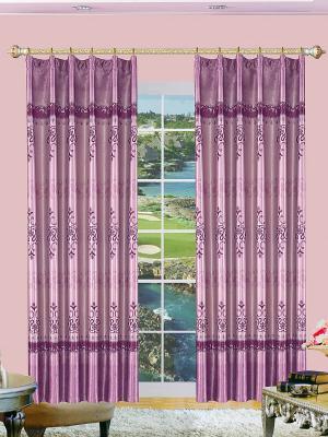 Комплект штор ZLATA KORUNKA. Цвет: сиреневый