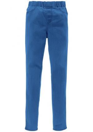 Джинсовые легинсы Colors for Life. Цвет: бирюзовый, голубой, лососевый, мятный, оранжевый, серый деним, синий потертый, ярко-розовый