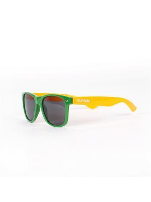 Очки TRUESPIN Classic True Spin. Цвет: зеленый, оранжевый