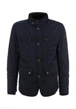 Куртка утепленная Goodyear. Цвет: синий
