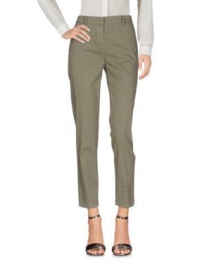 Повседневные брюки GOTHA. Цвет: зеленый-милитари