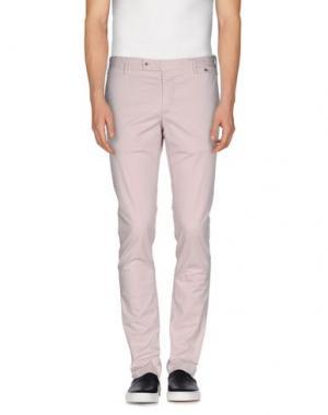 Повседневные брюки AT.P.CO. Цвет: светло-розовый