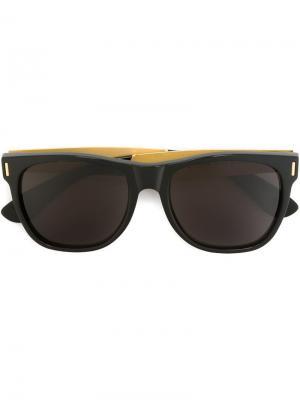 Солнцезащитные очки Classic Francis Goffrato Retrosuperfuture. Цвет: чёрный