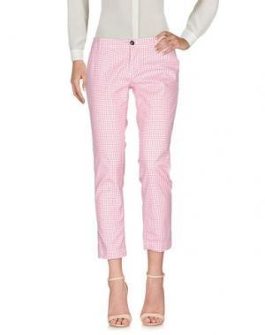 Повседневные брюки RRD. Цвет: красный