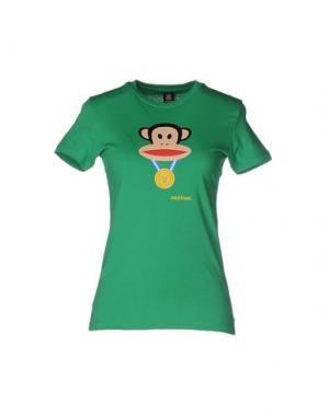 Футболка PAUL FRANK. Цвет: зеленый
