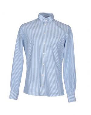 Pубашка RICHARD JAMES. Цвет: пастельно-синий