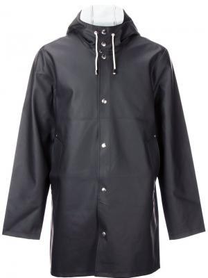 Stockholm raincoat Stutterheim. Цвет: чёрный