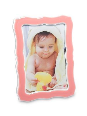 Фоторамка Семейная Идиллия 10*15 Bellezza casa. Цвет: розовый