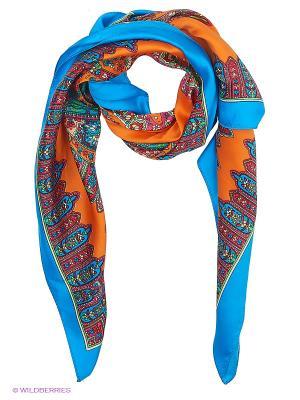 Платки женские Sabellino. Цвет: голубой