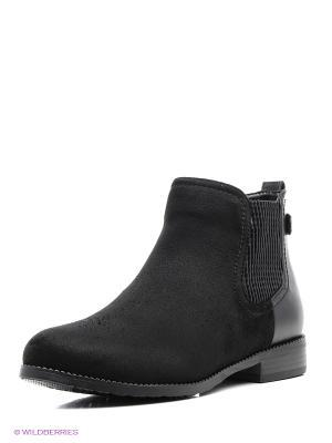 Ботинки Kari. Цвет: черный