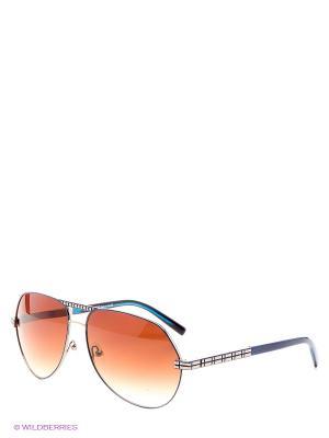 Солнцезащитные очки IS 11-297 19 Enni Marco. Цвет: коричневый, синий