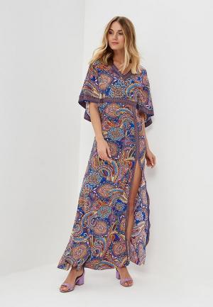 Платье пляжное Lora Grig. Цвет: разноцветный