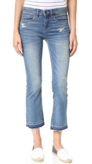 Укороченные джинсы с необработанным низом Blank Denim. Цвет: tap out
