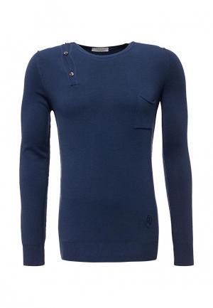Пуловер Trussardi Collection. Цвет: синий