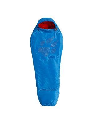 Спальный мешок GROW UP KIDS Jack Wolfskin. Цвет: голубой