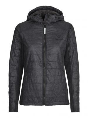 Куртка CLASSIC BEE WOMENS HYBRID JKT HUMMEL. Цвет: темно-серый