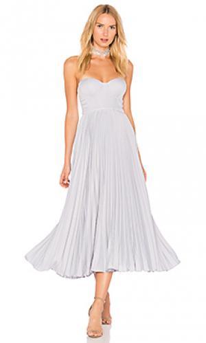 Платье без бретель starla Elle Zeitoune. Цвет: синий