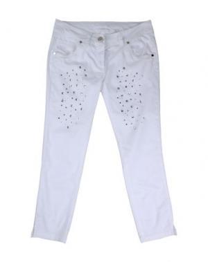 Повседневные брюки MISS GRANT. Цвет: белый