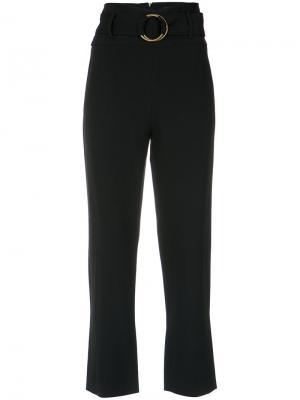 Cropped trousers Nk. Цвет: чёрный
