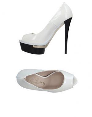 Туфли ENIO SILLA for LE. Цвет: слоновая кость