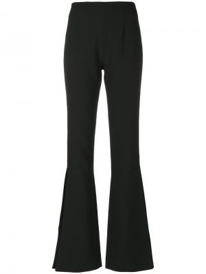 Ray high-waisted trousers Solace. Цвет: чёрный