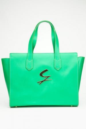Сумка Gattinoni. Цвет: зеленый