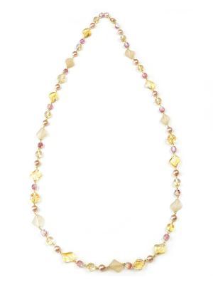 Ожерелья Bohemia Style. Цвет: бежевый