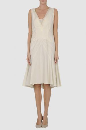Платье AINOS. Цвет: белый