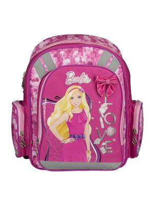 Рюкзак с эргономичной EVA-спинкой.  Barbie. Цвет: розовый
