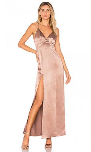 Макси платье bridge Privacy Please. Цвет: фиолетовый