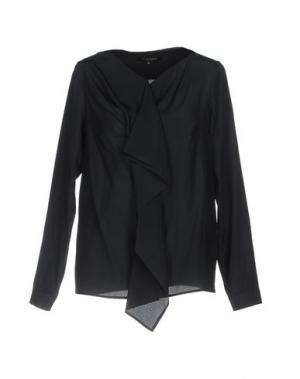 Pубашка WALTER VOULAZ. Цвет: темно-синий