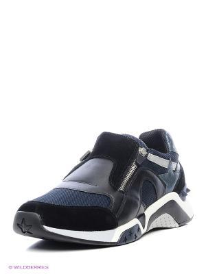 Ботинки ASH. Цвет: черный, синий