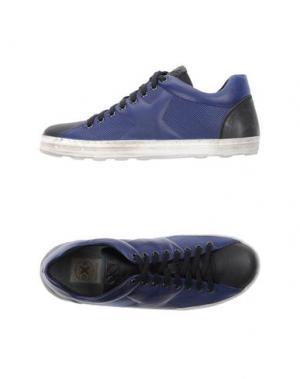 Низкие кеды и кроссовки O.X.S.. Цвет: синий
