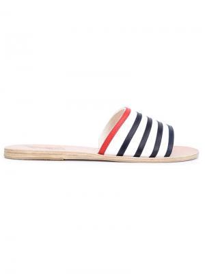 Шлепанцы Taygete Ancient Greek Sandals. Цвет: синий
