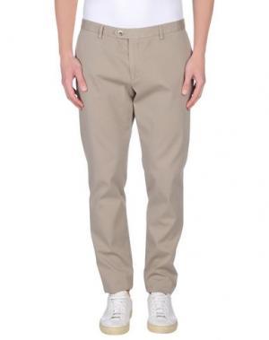 Повседневные брюки MAESTRAMI. Цвет: бежевый
