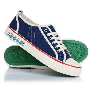 Кеды кроссовки низкие  1971-02 White/Blue Два Мяча. Цвет: белый,синий