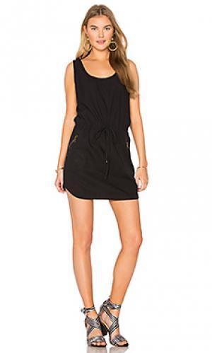 Платье dime YFB CLOTHING. Цвет: черный